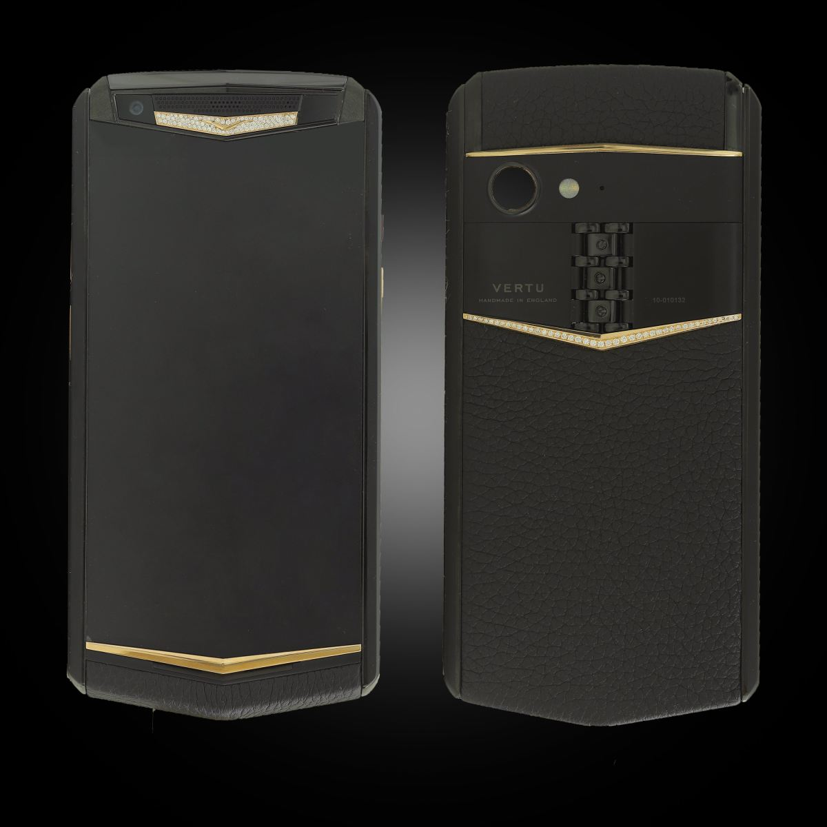 Vertu Aster P Jade Black Mix Gold Diamond