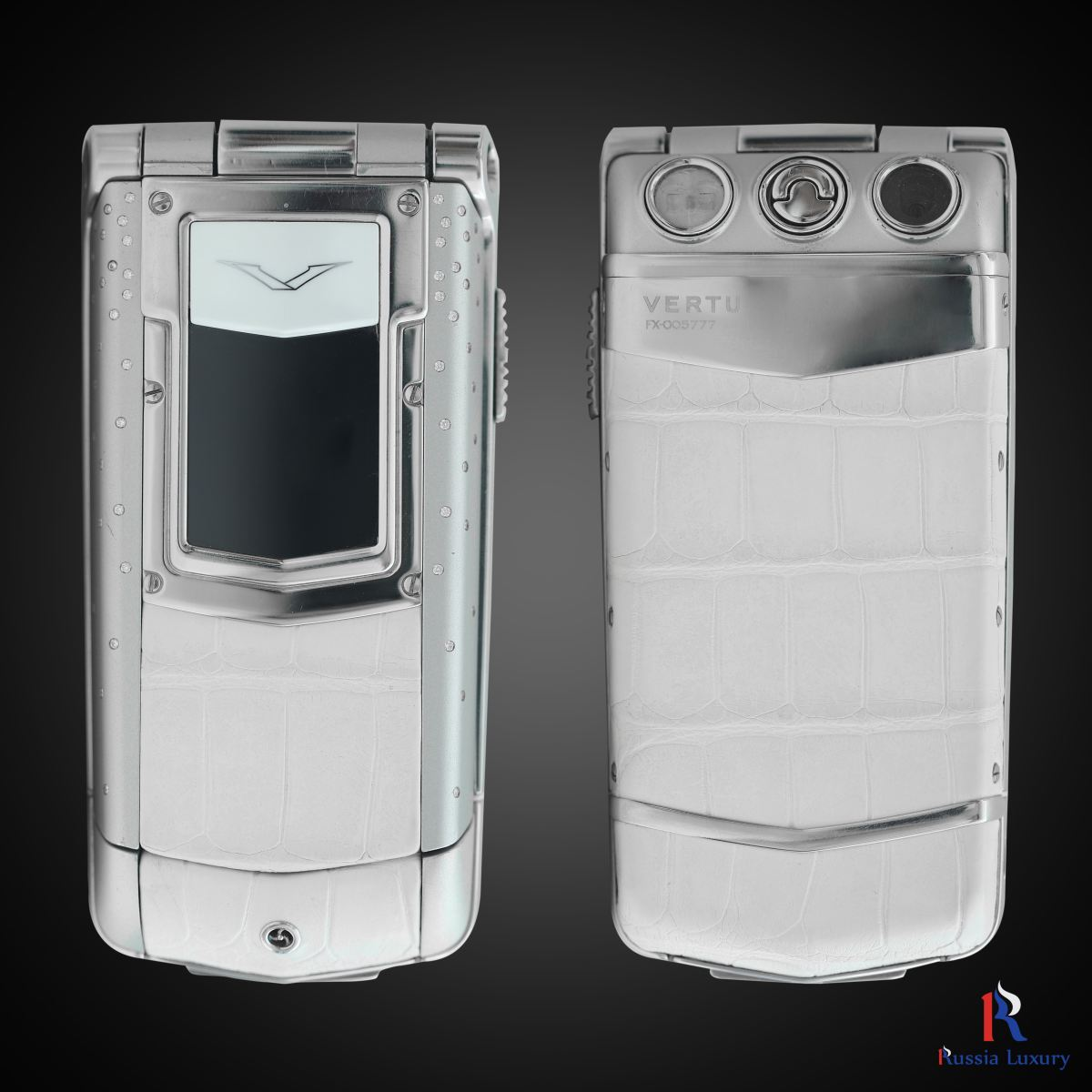 Vertu Constellation Ayxta Pure White Diamond Rain