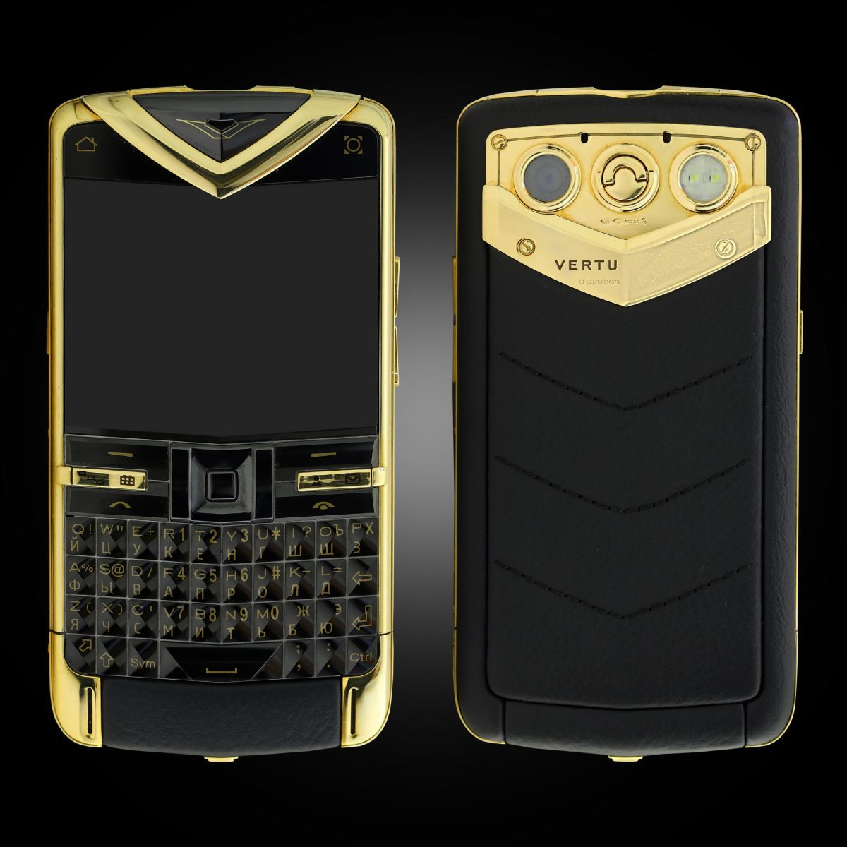Vertu Constellation Quest vàng khối