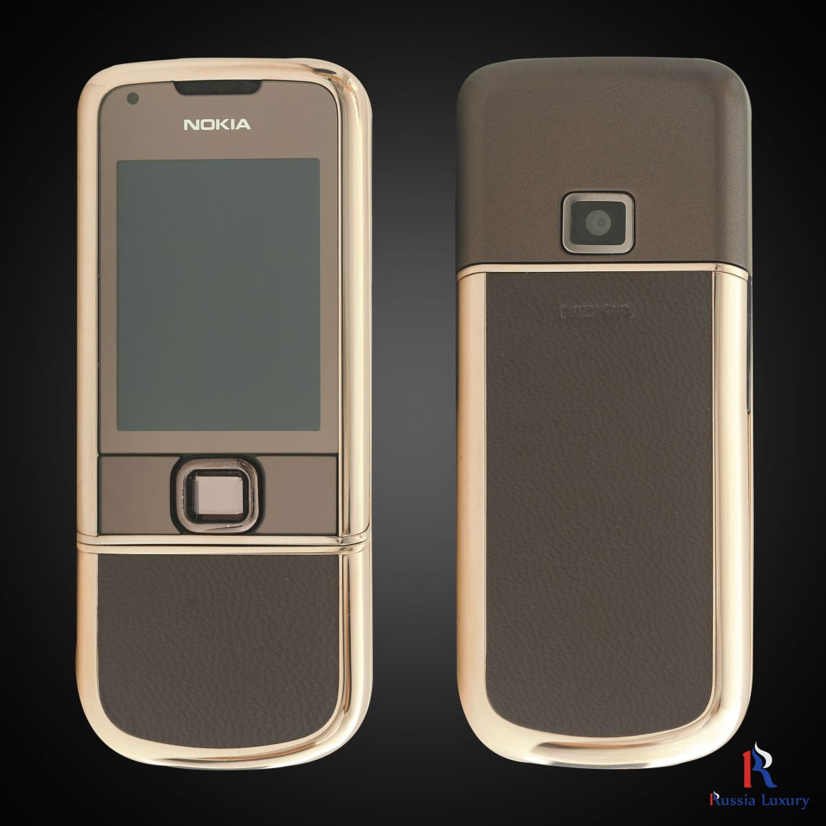 Nokia 8800 Rose Gold (Da nâu) 1