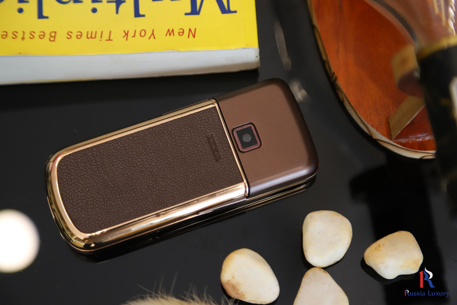 Nokia 8800 Rose Gold (Da nâu) 6