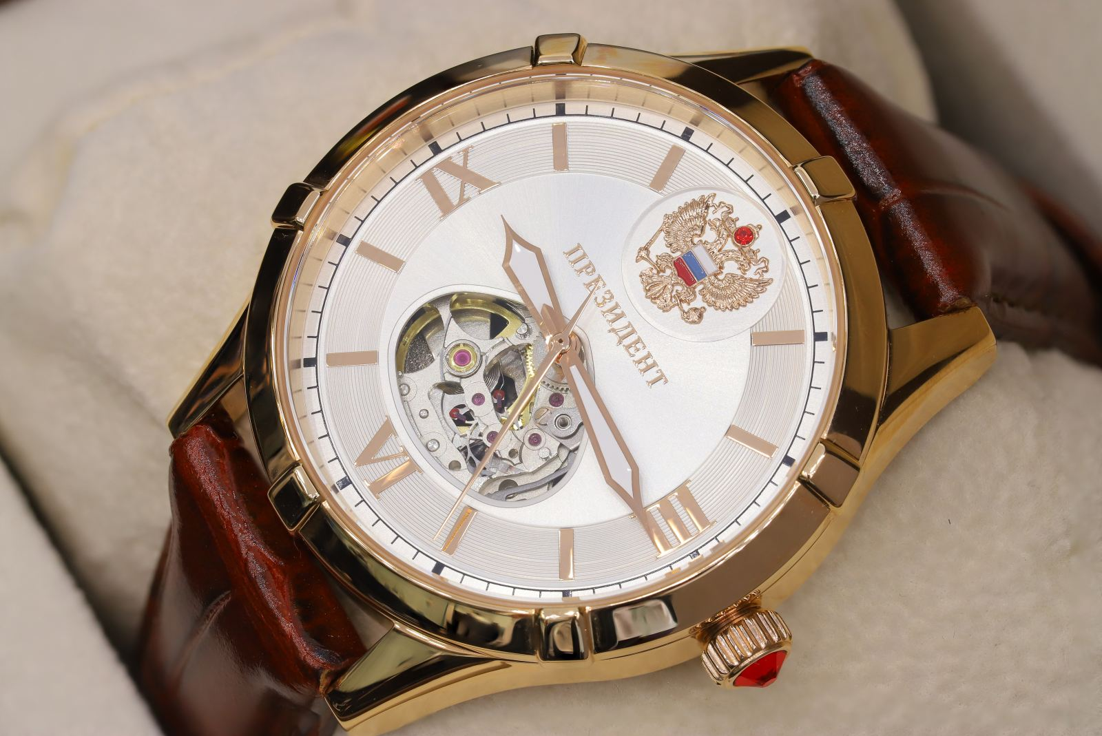 Russian time 1930 Open heart White