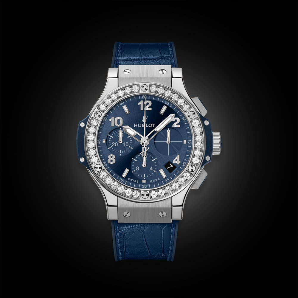 Đồng Hồ Hublot BigBang Steel Blue Diamonds