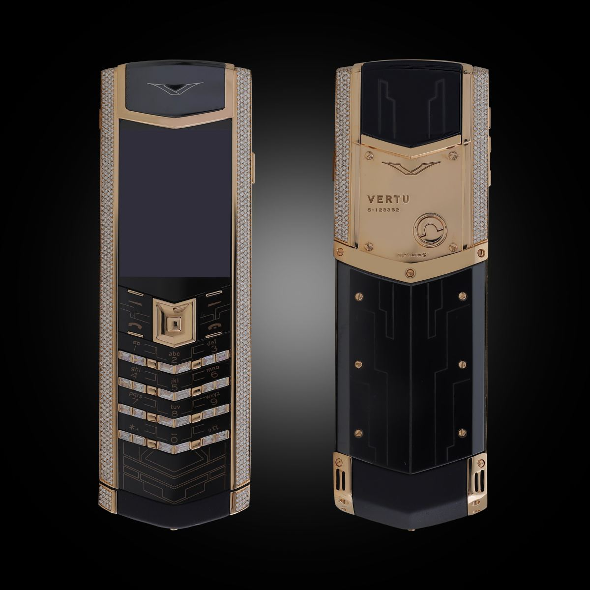 Vertu Signature S Rose Gold Full Diamond